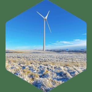 Wind mill in Windplanner