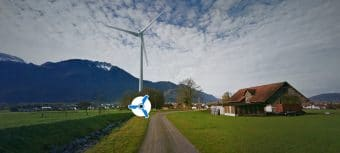 Visual created with Windplanner